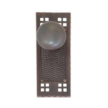 Brass Accents Arts & Crafts Interior Door Set - Netropol Knob