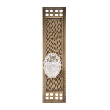 Brass Accents Arts & Crafts Interior Door Set - Savannah Knob