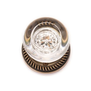 Brass Accents Charleston Interior Door Set - Empire Knob