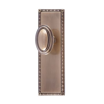 Brass Accents Egg & Dart Interior Door Set - Revere Knob