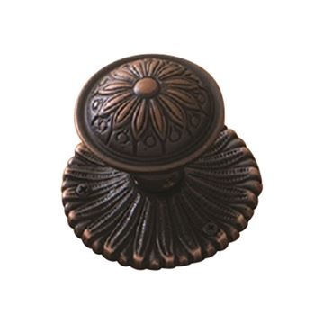 Brass Accents Helios Interior Door Knob Set