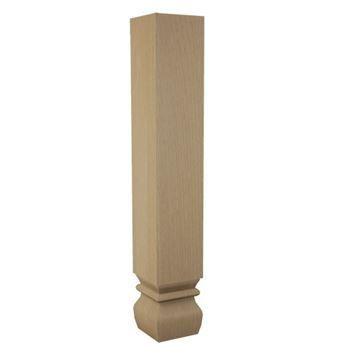 Designs of Distinction 18 Inch Kensington Table Leg
