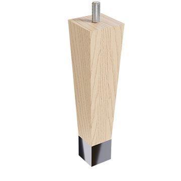 Designs of Distinction 6 Square Taper Foot - Chrome Ferrule & Bolt
