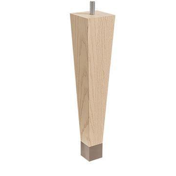Designs of Distinction 9 Square Taper Foot - Bronze Ferrule & Bolt