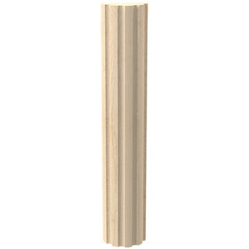 Designs of Distinction Create-A-Column 1 1/2 Half Round Flute Molding