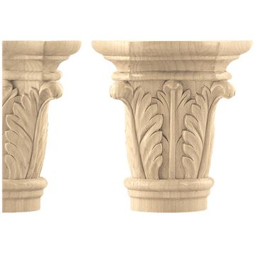 Designs of Distinction Create-A-Column Acanthus Capital - Pair
