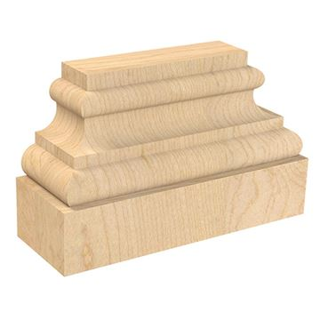 Designs of Distinction Create-A-Column Split Square Plinth Base - Pair