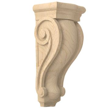 Designs of Distinction Hand Carved 12 1/2 Inch Traditional Corbel