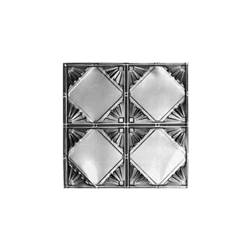 Shanko 12 Inch Diamond Nail Up Ceiling Tin Tile