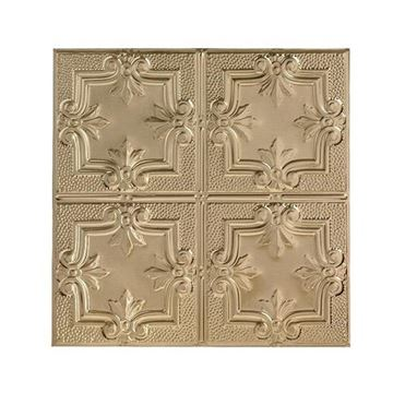 Shanko 12 Inch Scroll Ceiling Tin Tile