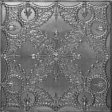 Shanko 24 Inch Beaded Ceiling Tin Tile