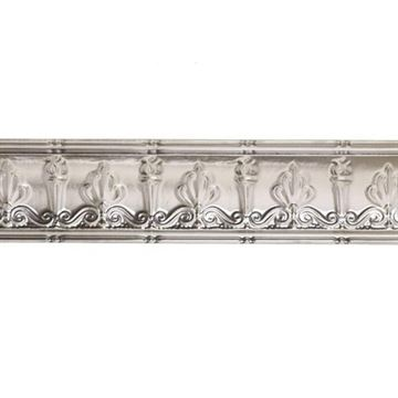 Shanko 4 Inch Torch & Scroll Steel Cornice