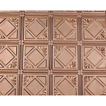 Shanko 6 Inch Diamond Nail Up Ceiling Tin Tile