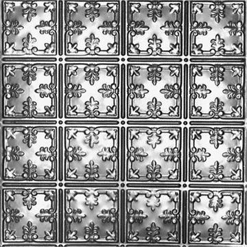 Shanko 6 Inch Scroll Backsplash - 18 x 48 Inch