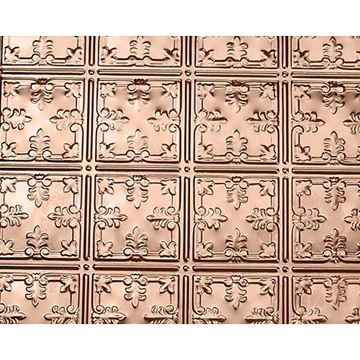 Shanko 6 Inch Scroll Backsplash - 24 x 48 Inch