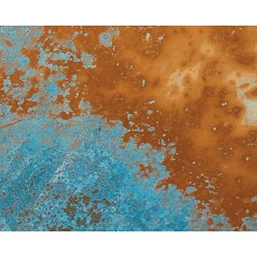 Restorers Azul Aged Solid Copper Sheet