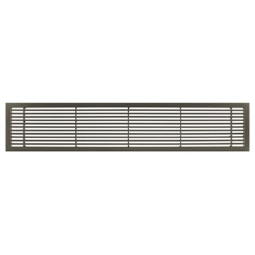 Architectural Grille Antique Bronze Bar Grille - 45 Deflection