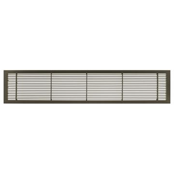 Architectural Grille Antique Bronze Bar Grille - No Deflection