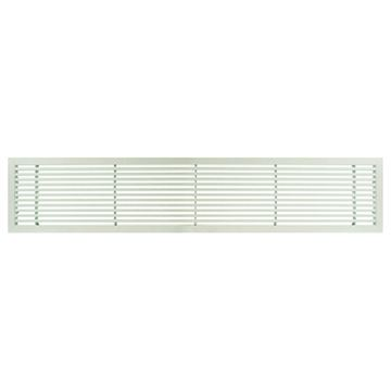 Architectural Grille White Matte Bar Grille & Door - 45 Deflection