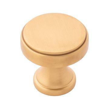 Belwith-Keeler Brownstone Round Knob
