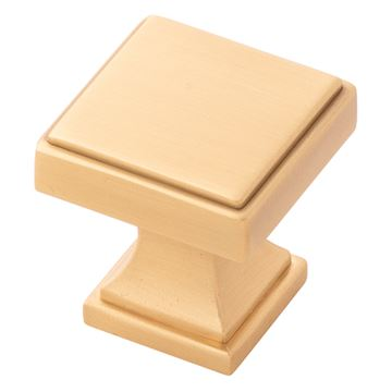 Belwith-Keeler Brownstone Small Square Knob