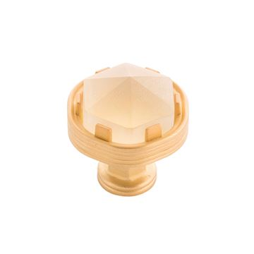 Belwith-Keeler Chrysalis Frosted Glass Knob