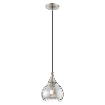 Livex Lighting 40645 Art Glass Pendant Light