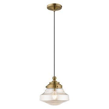 Livex Lighting 41223 Art Glass Pendant Light