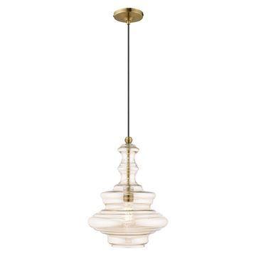 Livex Lighting 41224 Art Glass Pendant Light
