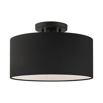 Livex Lighting Bainbridge Large Semi Flush Light