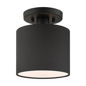 Livex Lighting Bainbridge Small Semi Flush Light