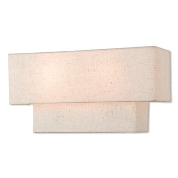 Livex Lighting Claremont 16 Inch Oatmeal Wall Sconce