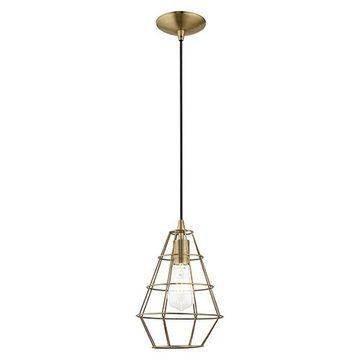 Livex Lighting Geometric 41322 Mini Pendant Light