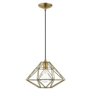Livex Lighting Geometric 41323 Mini Pendant Light
