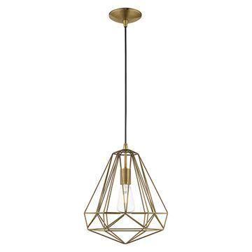 Livex Lighting Geometric 41324 Mini Pendant Light