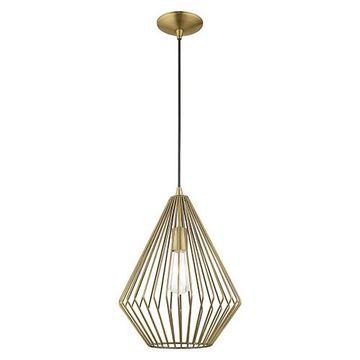 Livex Lighting Geometric 41325 Mini Pendant Light