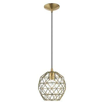 Livex Lighting Geometric 41326 Mini Pendant Light