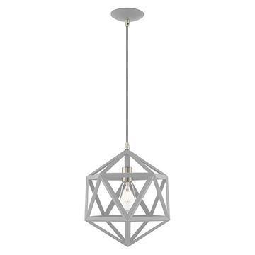 Livex Lighting Geometric 41328 Mini Pendant Light
