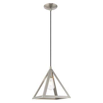 Livex Lighting Geometric 41329 Mini Pendant Light