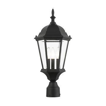 Livex Lighting Hamilton 21 Inch Outdoor Post Top Lantern