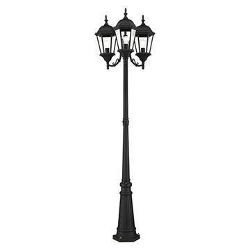 Livex Lighting Hamilton 3-Light Outdoor Post Light