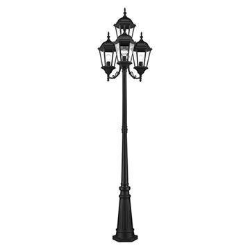 Livex Lighting Hamilton 4-Light Outdoor Post Light