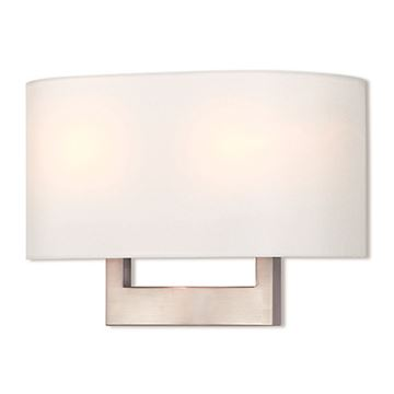 Livex Lighting Hayworth 14 Inch Off White Wall Sconce