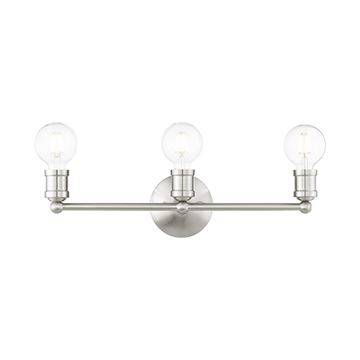 Livex Lighting Lansdale 3-Light Vanity Light