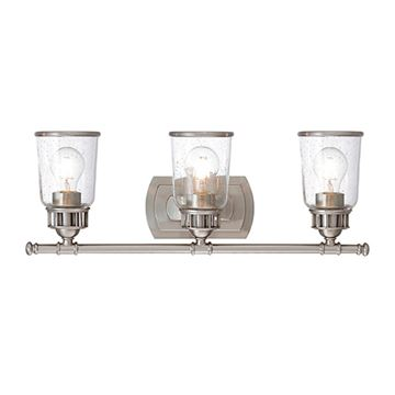 Livex Lighting Lawrenceville 3-Light Vanity Light