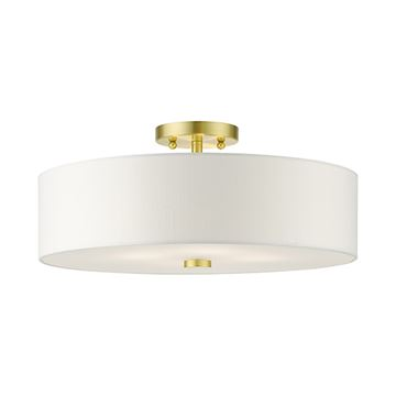 Livex Lighting Meridian 18 Inch Semi Flush Light
