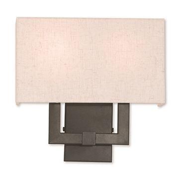 Livex Lighting Meridian 2-Light Wall Sconce