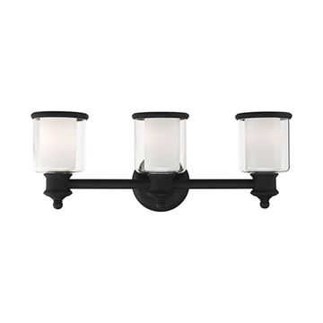 Livex Lighting Middlebush 3-Light Vanity Light
