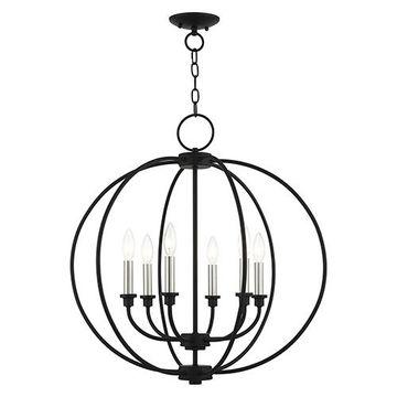 Livex Lighting Milania Globe Chandelier