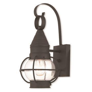 Livex Lighting Newburyport Small Outdoor Wall Lantern